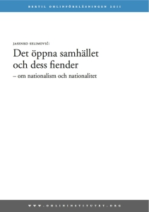 om nationalism och nationalitet