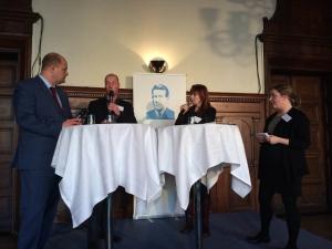 Olle Wästberg, Karin Rebas, Thomas Mattsson, Gunilla Kindstrand och Karin Rebas